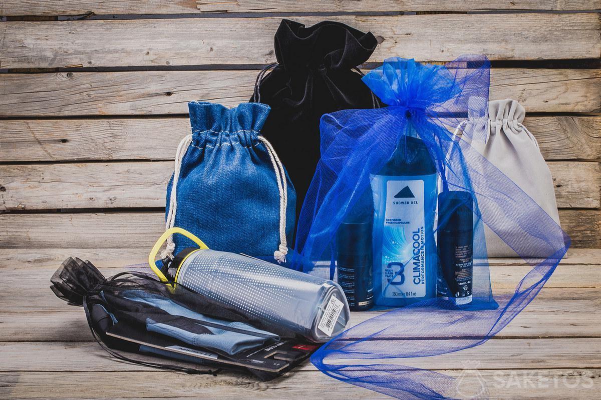 Woreczki jako organizery do torby i opakowania na prezenty