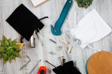 woreczki na narzędzia i warsztatowe drobiazgi