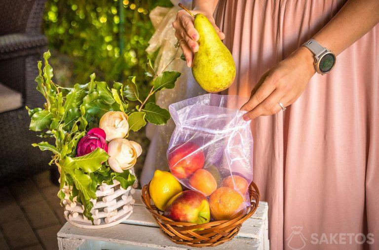 Moskitiera na owoce
