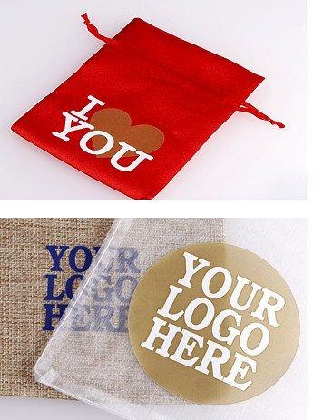 Bolsas personalizadas con una impresión o logotipo