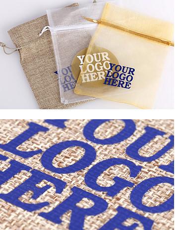 Bolsas de lino personalizadas