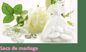 Petit sac de mariage