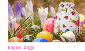 Unique Easter gift pouches