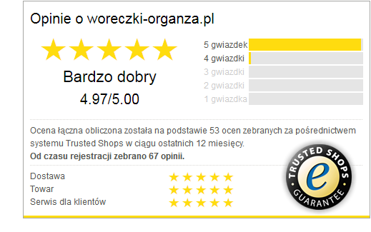 Certyfikat dla woreczki-organza.pl